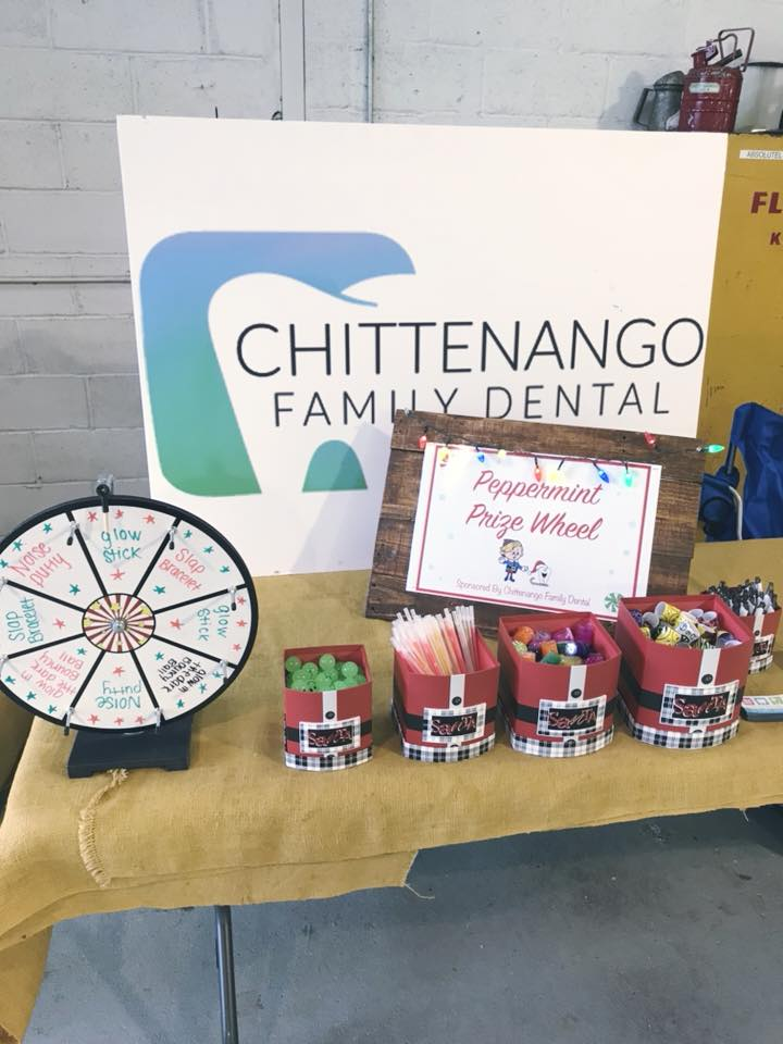 The Chittenango Family Dental table.